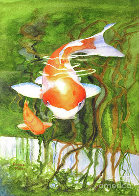 Painting - Play Koi With Me by Bonnie Rinier