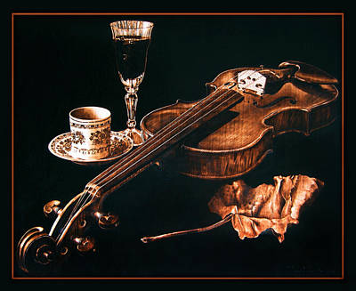 Pyrography - Play Me  by Dino Muradian