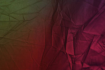 Brown Toned Art Photograph - Play Of Hues. Dark Olive Green And Violet Red. Textured Abstract by Jenny Rainbow