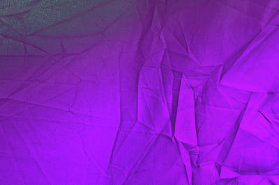 Photograph - Play Of Hues. Dark Violet With Hint Of Green. Textured Abstract by Jenny Rainbow
