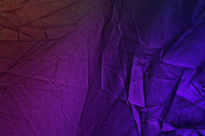 Photograph - Play Of Hues. Purple And Magenta. Textured Abstract by Jenny Rainbow