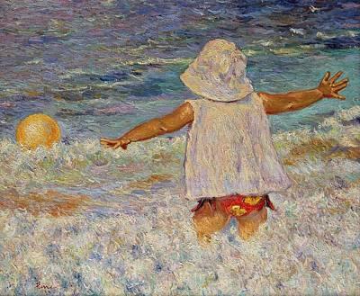 Painting - Play by Pierre Van Dijk
