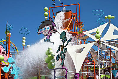 Photograph - Play Time At Seaworld by Miroslava Jurcik