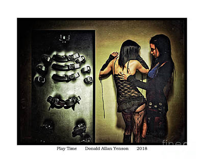 Photograph - Play Time by Donald Yenson