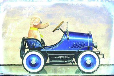 Peddle Car Photograph - Play Time by Lynn Sprowl
