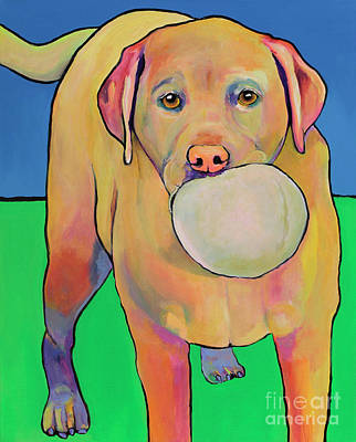 Play With Me Art Print by Pat Saunders-White