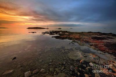 Photograph - Playa D'en Bossa 2.0 by Yhun Suarez