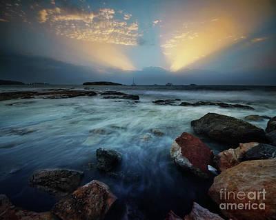 Photograph - Playa D'en Bossa 5.0 by Yhun Suarez