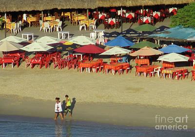 Photograph - Playa La Crucecita 4 by Randall Weidner