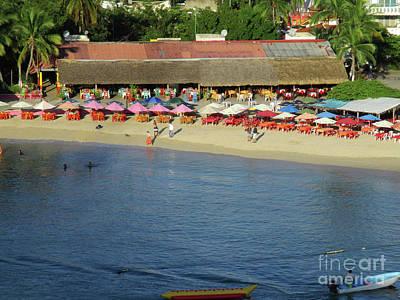 Photograph - Playa La Crucecita 5 by Randall Weidner