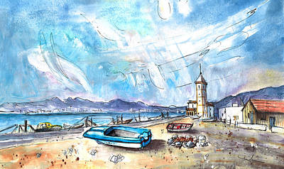 Painting - Playa Las Salinas 02 by Miki De Goodaboom