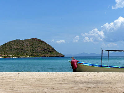 Photograph - Playa Santispac 3 by Jeff Brunton