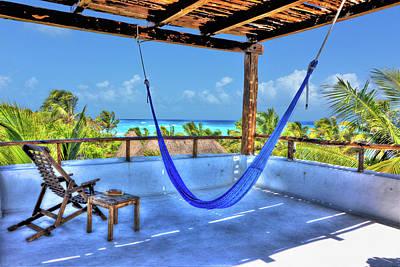 Playa Selva Cabana Rooftop Original by Randy Aveille