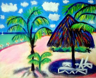 Painting - Playa Sol Isla Mujeres by Ted Hebbler