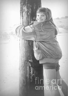 Photograph - Playing At The Beach by Diana Besser