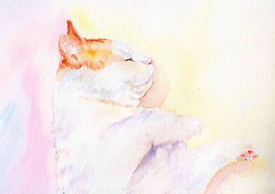 Painting - Playful Cat Iv by Elizabeth Lock