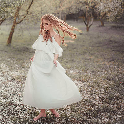 Photograph - Playful Nymph by Vit Nasonov