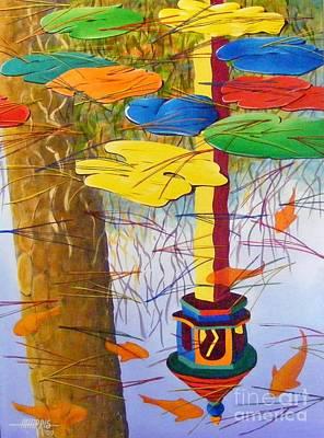 Playful Pond Art Print by Hugh Harris