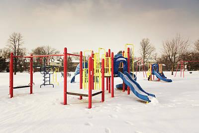 Photograph - Playground by Chris McPhee