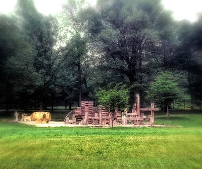 Photograph - Playground Memory by Kellice Swaggerty
