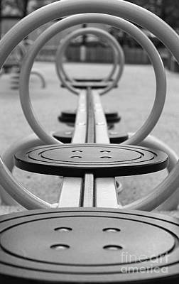 Photograph - Playground Perspective by Nina Silver