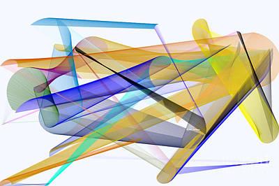 Digital Art - Playground by Rafael Salazar