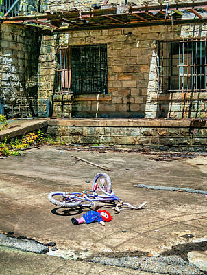Raggedy Ann Photograph - Playground by Steve Harrington
