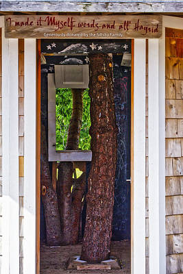 Photograph - Playhouse - Fort Foster - Kittery - Maine by Steven Ralser
