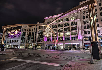 Photograph - Playhouse Square  by Brent Durken