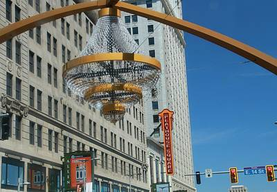 Downtown Cleveland Photograph - Playhouse Square Cleveland by Dan Sproul
