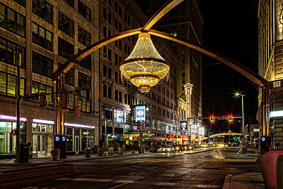 Photograph - Playhouse Square by Dale Kincaid