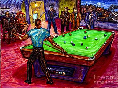 Pool Table Paintings Fine Art America - Pool table painting