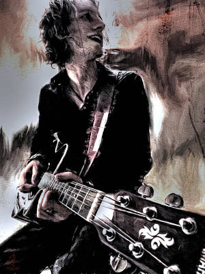 Playin' Grunge Art Print by Pennie  McCracken