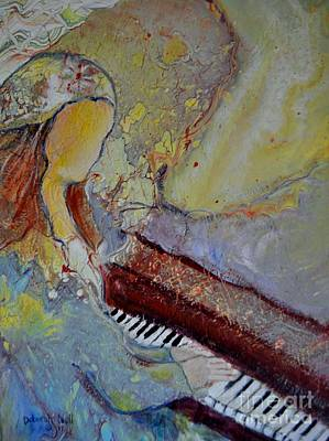 Painting - Playing By Heart by Deborah Nell