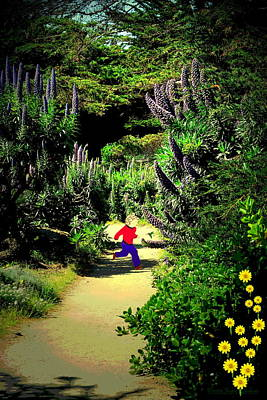 Photograph - Playing In The Garden Five by Joyce Dickens