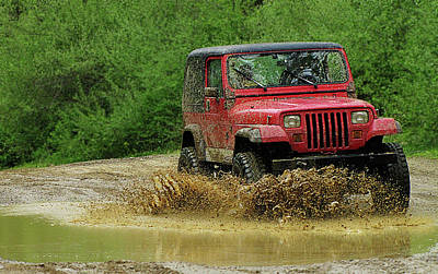 Hovind Photograph - Playing In The Mud by Scott Hovind