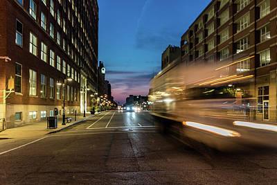 Photograph - Playing In Traffic by Randy Scherkenbach