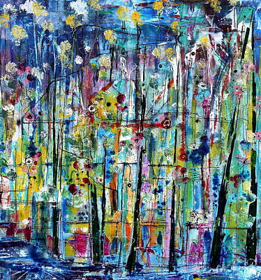 Wanderings Art Print by Louie Rochon