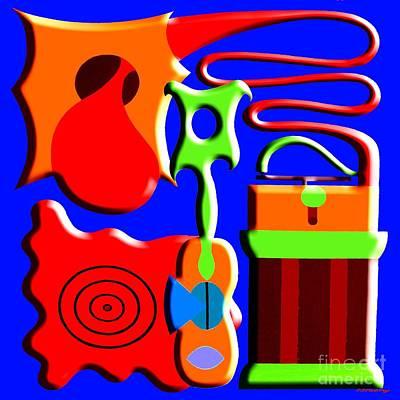 Playing Music Art Print by Patrick J Murphy