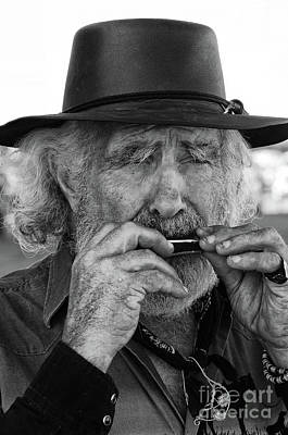 Photograph - Playing The Blues by Bob Christopher