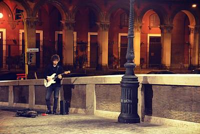 Photograph - Playing The Ponte Sisto by JAMART Photography