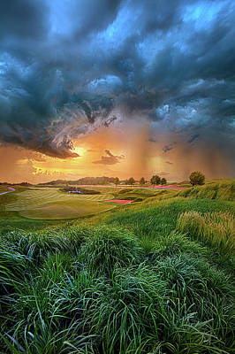 Golf Art Photograph - Playing Through by Phil Koch