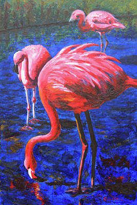 Painting - Playing with Pink by Charlotte DeMolay