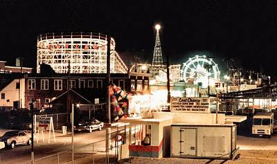 Lennon Photograph - Playland by Bruce Lennon
