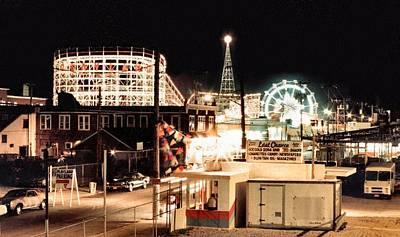 Amusement Park Photograph - Playland by Bruce Lennon