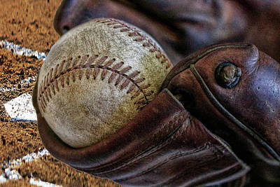 Photograph - Plays At Home Plate by Pat Cook