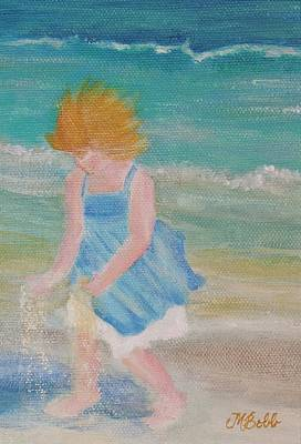 Painting - Runs With Sand by Margaret Bobb