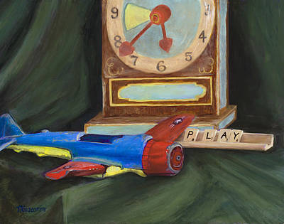 Painting - Playtime by Mary Giacomini