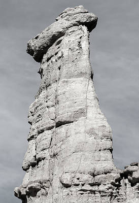 Photograph - Plaza Blanca Hoodoo by Britt Runyon