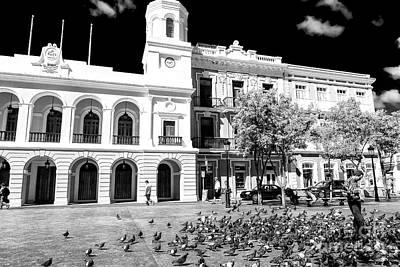 Photograph - Plaza De Armas City Hall San Juan by John Rizzuto